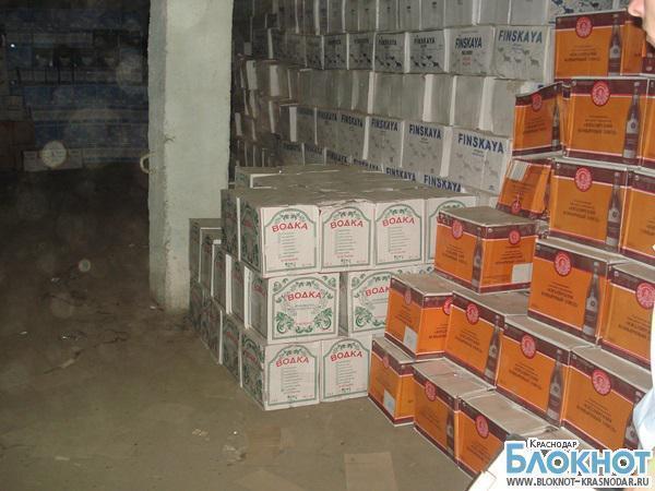 17 тысяч литров контрафактного алкоголя задержали на Кубани