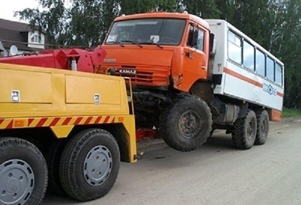 В Сочи на штрафстоянку будут эвакуировать грузовики