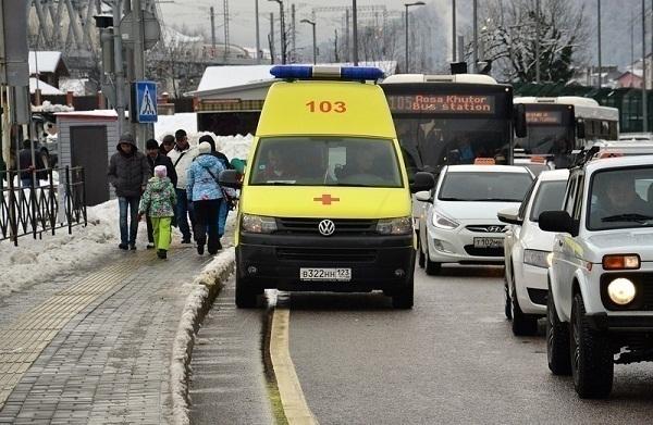 Туристы спешно покидают Красную Поляну