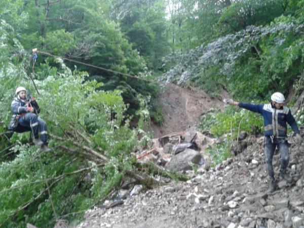 МЧС эвакуировали пострадавших из села Татьяновка