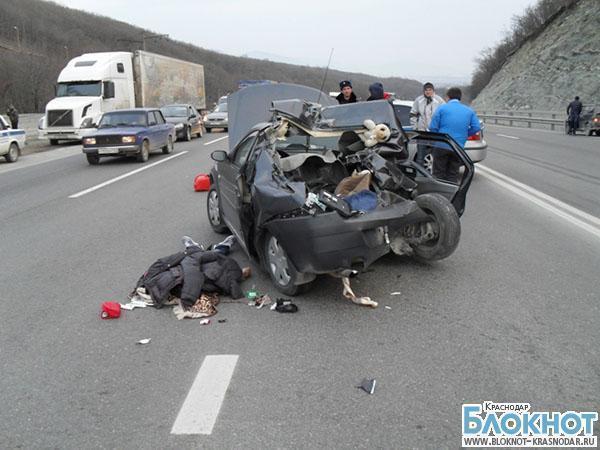 ДТП на трассе из Новороссийска: один погиб, один травмирован