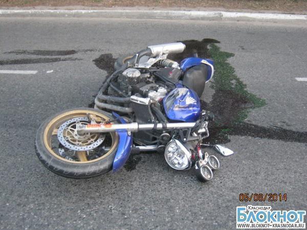 На Кубани 18-летний мотоциклист погиб в аварии