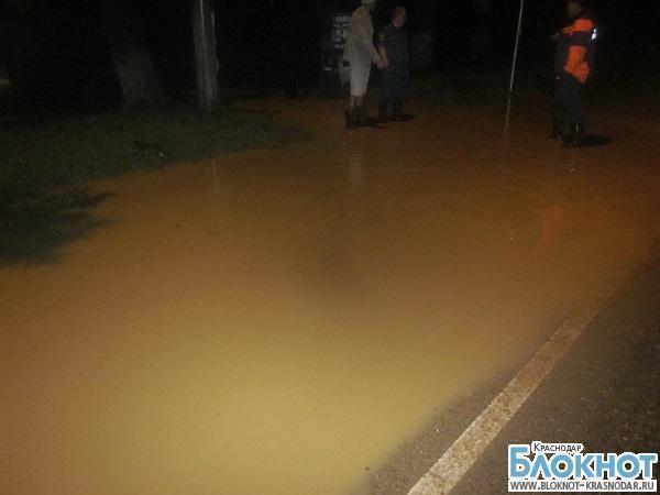 Два района Краснодарского края оказались в зоне затопления