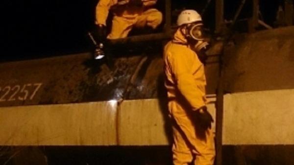 На железнодорожной станции Тихорецк произошла утечка серной кислоты