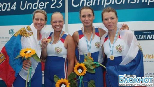 Жительница Темрюка стала победительницей в чемпионате мира по гребному спорту