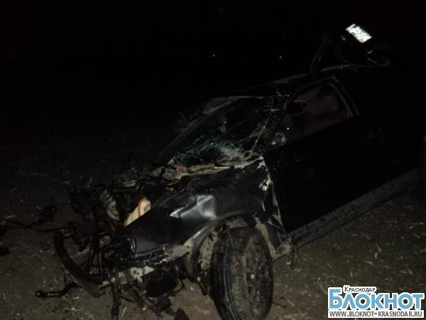 На трассе «Краснодар-Новороссийск» в аварии погиб  23- летний парень