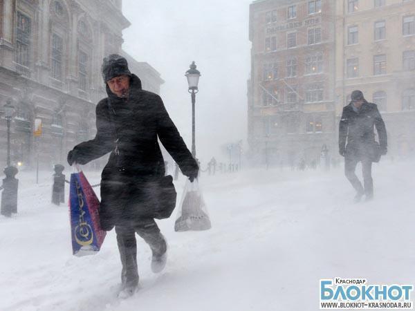 На Кубани обещают рекордные морозы