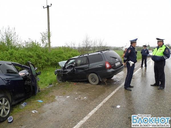В Белореченском районе произошло ДТП