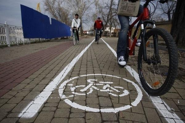 В Краснодаре открыли велодорожку к Ботаническому саду