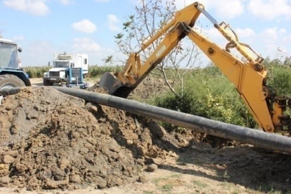 В Темрюкском районе произошла авария на магистральном водопроводе