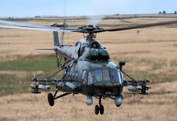 Четыре вертолета «Терминатор» поступили на вооружение Южного военного округа