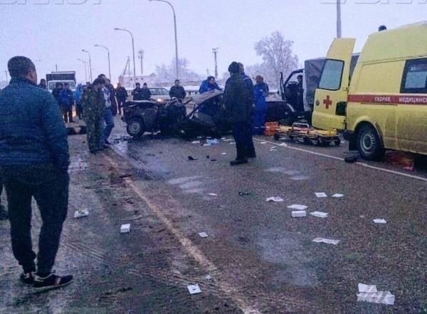 Количество погибших в смертоносной аварии под Белореченском увеличилось