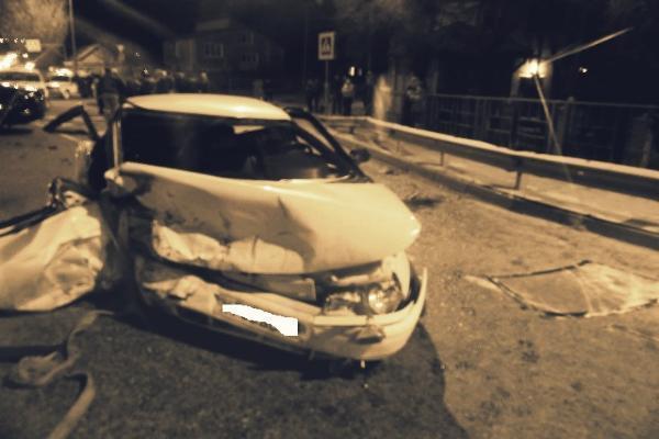 На Кубани «Ягуар» врезался в «десятку», погибла девушка