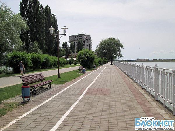 Набережную Краснодара реконструируют