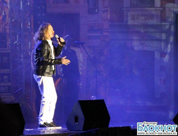 Игорь Николаев выступил в Краснодаре на Дне города