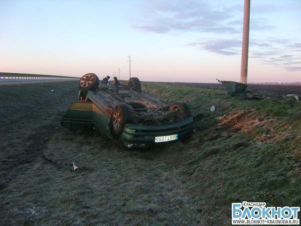ДТП в Выселковском районе: женщина погибла, мужчина пострадал
