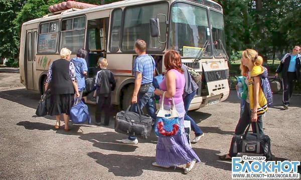 В Краснодар прибыло 182 человека с Украины