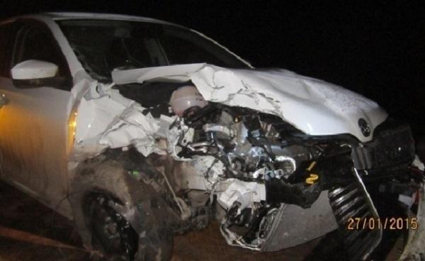 Три человека попали в больницу в результате дорожной аварии на Кубани