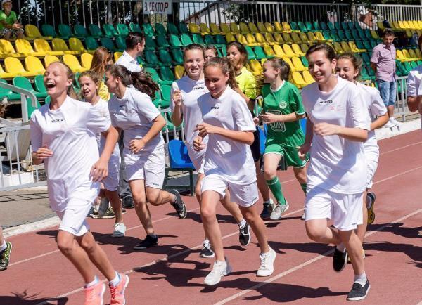 Усть-Лабинск принял эстафету благотворительного забега «Добрый старт»