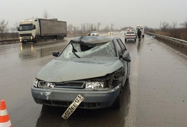 В Краснодаре 21-летний водитель насмерть сбил пешехода