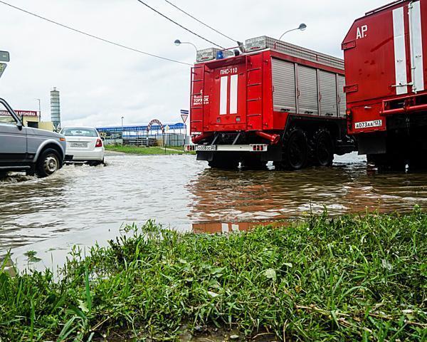 Администрация Краснодара подготовилась к штормовому предупреждению
