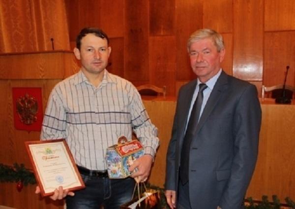 Житель Кубани получил награду за спасение рыбаков