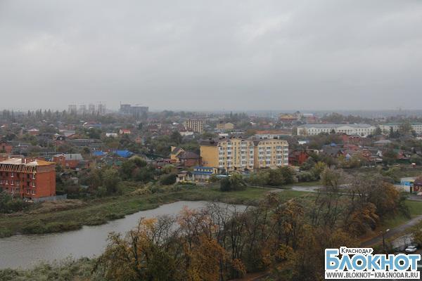 В Краснодарском крае выпал мокрый снег с дождем