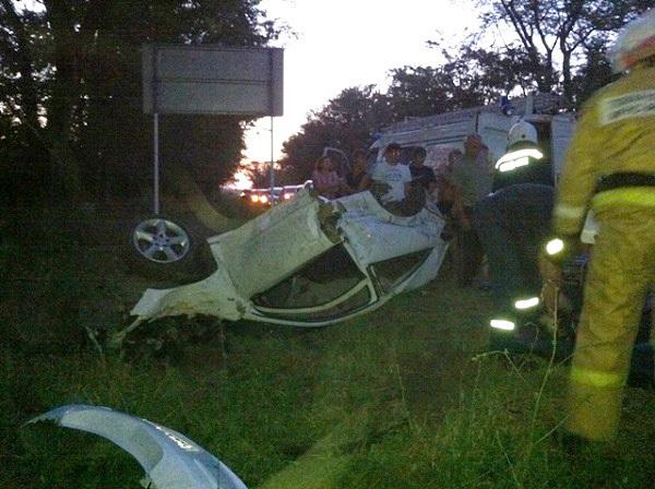 В Новокубанском районе в аварии погибли два молодых человека