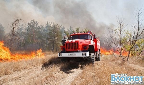 На территории всего Краснодарского края объявлена пожароопасность