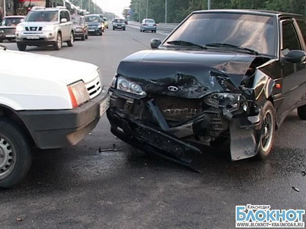 В ДТП в Красноармейском районе пострадали женщина и ребенок