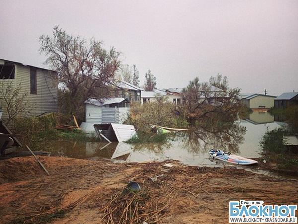 Пострадавшие от урагана  жители Ейского района получат финансовую помощь