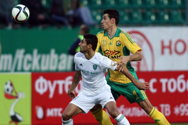 Грозненский «Терек» в меньшинстве перевернул игру с «Кубанью»