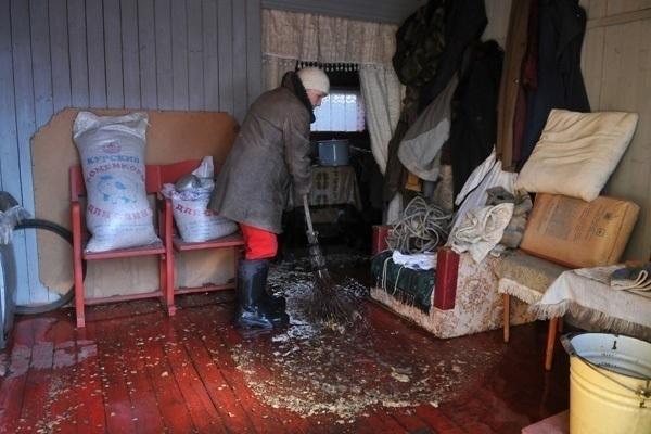 На Ейский район обрушилось новое наводнение