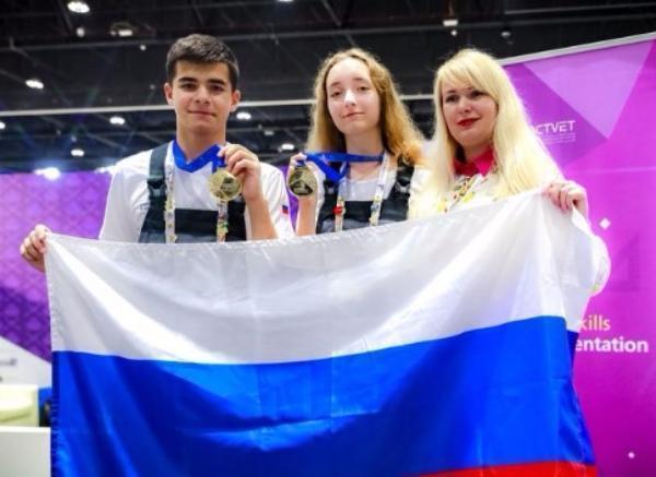 Кубанцы завоевали медали на чемпионате рабочих профессий WorldSkills в Абу-Даби