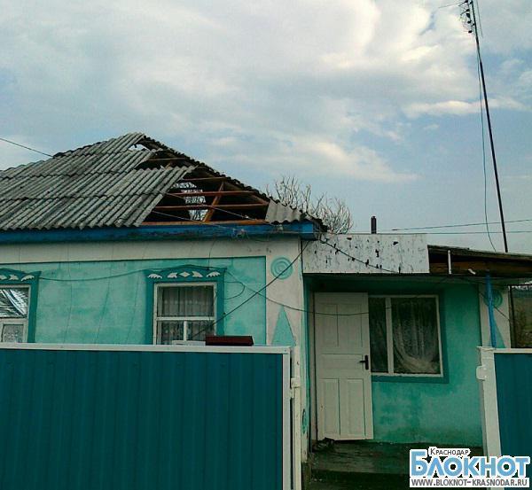 В Краснодарском крае из-за сильного ветра нарушено электроснабжение
