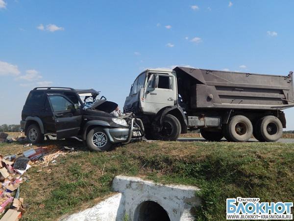 В Кущевском районе в ДТП погиб мужчина