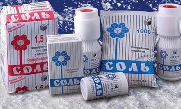 В кубанских магазинах исчезнет украинская соль