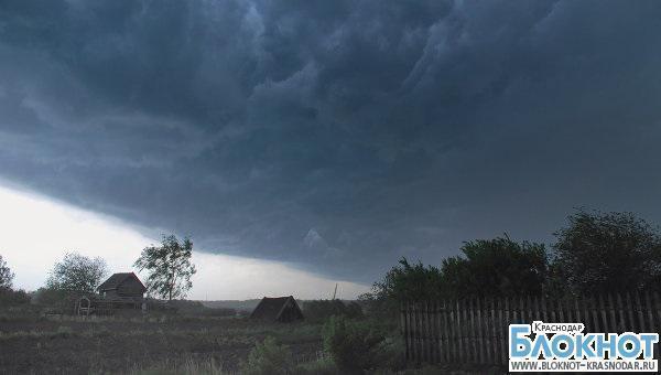 В Краснодарском крае МЧС сообщает о возможных чрезвычайных ситуациях