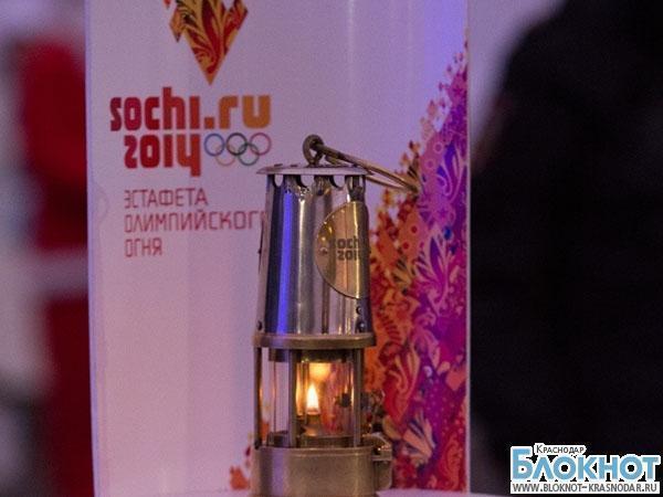 Олимпийский огонь прокатят в упряжке