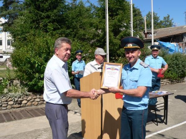 В Лабинске празднуют юбилей пожарно-спасательной части №40
