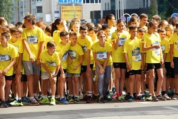 В Краснодаре прошел 12-й легкоатлетический забег