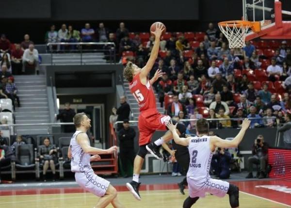 БК «Локомотив-Кубань» продлил победную серию вКубке Европы до8 игр