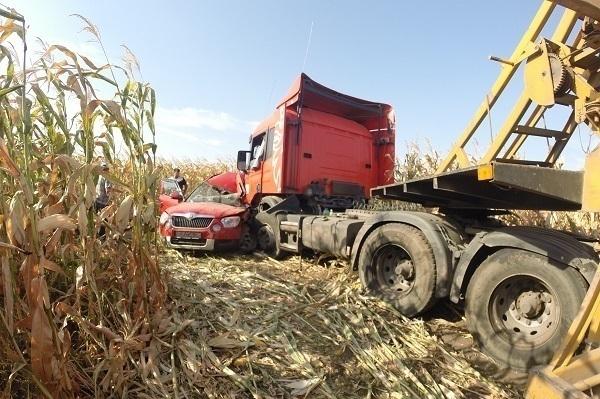 Крупная авария на Кубани: столкнулось семь автомобилей