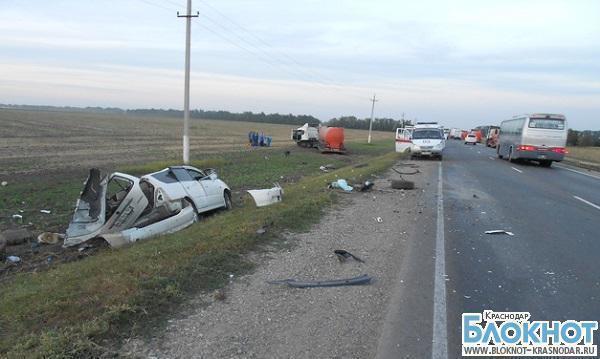 В Краснодарском крае в ДТП погибли два человека