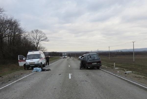 Под Новороссийском водитель легковушки погиб при столкновении с грузовиком