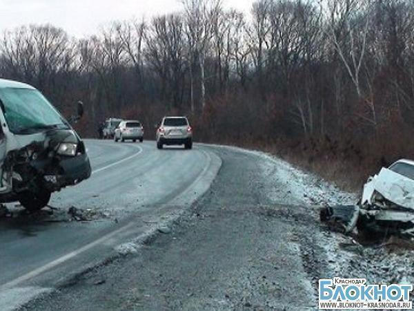 В ДТП в Геленджике пострадали двое