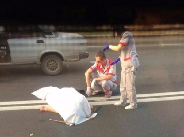 Юноша на«семерке» напешеходном переходе сбил двоих бабушек вКраснодаре