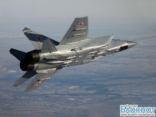 Под Армавиром разбился самолет МиГ-31