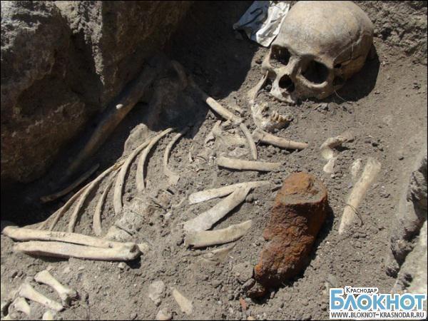 В Новопокровском районе археологи обнаружили захоронение бронзового века