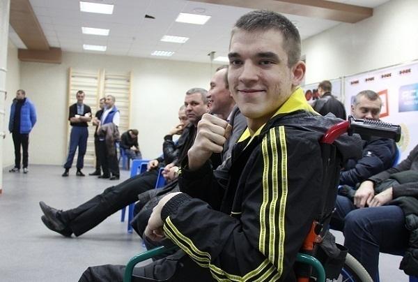 На краснодарском  ринге сбылась мечта  парня в инвалидном кресле